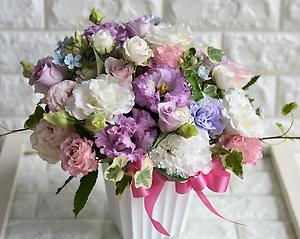 serious pink&lavender:伝わる思いアレンジメント