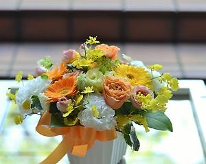 ピュア・ナチュラル・大好きオレンジ:お花の贈り物