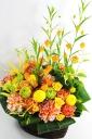 お祝い花・豪華アレンジメントフラワーS/YOR1