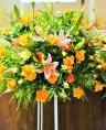 お祝い花・開店・豪華スタンド花15YRI1
