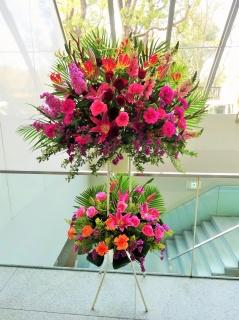 お祝い花・開店・豪華スタンド花20REPI2