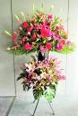 お祝い花開店・コンサート豪華スタンド花25PRE2