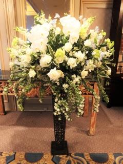 お祝い花開店コンサート豪華スタンド花30WGR1