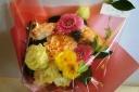 【かわいいブーケ☆ピンク系】花束