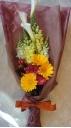 カラー×ガーベラのお花束