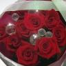 赤バラのキラキラ ジュエリーブーケ