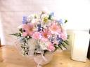 『スモーキーピンクの供花』