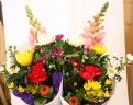 お墓参り用 仏花一対 お線香セット