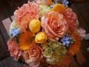 優しさ溢れるオレンジシャーベット