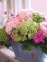 フレッシュなお花には無農薬のドレッシングをセットで