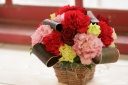 感謝の気持ちお花に込めて