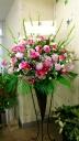 可愛いスタンド花