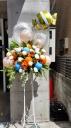 バルーン付きスタンド花