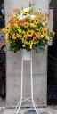 ひまわりのスタンド花