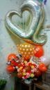 バルーンアレンジ オレンジ系