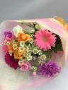 ガーベラのミックス花束