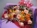 バラMIXの花束