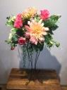 造花 スタンド花 ピンク