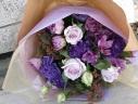シックな紫のグラデーション「パープル・ブーケ」