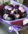 古希の御祝に!!紫のグラデーション花束