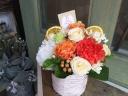 母の日「アレンジメント・マンダリンオレンジ」