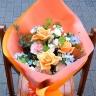 オレンジ花束【ミックス】