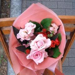 ピンク花束【ストロベリー】