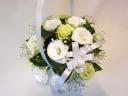 供花 【白・グリーンで可愛らしく】