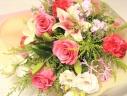 花束の贈り物・・・