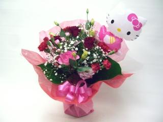 キティちゃんブケット『ピンク・レッド系』