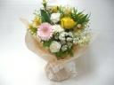 花瓶の要らない花束≪仏花用☆バラ入り≫