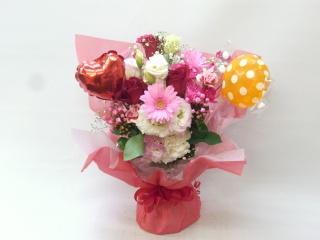 水玉キャンディーブケット花束☆花瓶は要りません