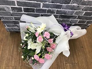 洋花☆和花のMIX花束