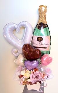 シャンパンで御祝を