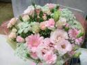 淡いピンクの花束♪