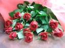 赤薔薇の花束12本