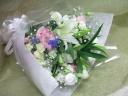 白基調ミックスカラー御供え花束