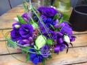 紫・ブルー系アレンジメント