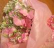 ♪スイトピーの花束