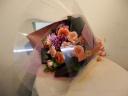 モーヴカラーな花束