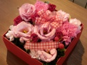フラワーボックス☆ふんわりピンク