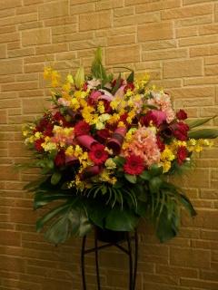 NO803お祝い用スタンド花