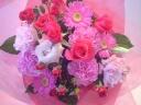 チェリー~ピンクのバラのブーケ~