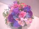 ラベンダーカラーの花贈り