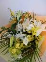 カサブランカの花束