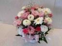 バラの入ったお供えのお花