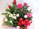 旬のお花のバスケット~スプリング~