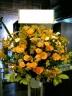 スタンド花 オンリーオレンジ