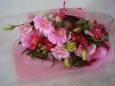 ピンクの花束♪