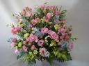 ピンク小花のカラフルアレンジメント♪